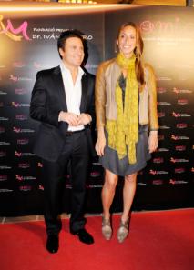 Dr. Mañero con Gemma Mengual
